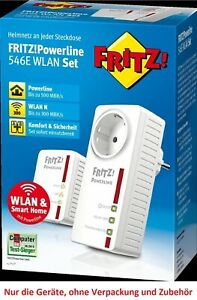 AVM Fritz!Powerline 546e WLAN Set (20002743) vom Händler ⭐⭐⭐⭐⭐