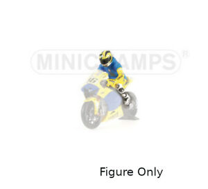Minichamps 1/12 Valentino Rossi Figure 2006 Sachsenring Riding motogp model