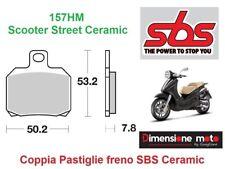 157HM - Pastiglie Freno Anteriori SBS Ceramic per PIAGGIO X9 125 Evolut dal 2003