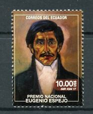 More details for ecuador 2017 mnh eugenio espejo 1v set famous people writers lawyers stamps