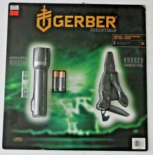 New GERBER Gerber Crucial Strap Cutter Multi-tool and Iris LED Flashlight