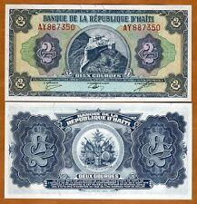 Haiti, 2 Gourdes, L. 1979, Pick 245A, UNC