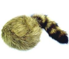 KIDS SIZE RACCOON TAIL HAT coon tails novelty childrens cap boy girl fur
