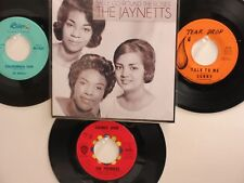 4 OLDIES BUT GOODIES HIT45's+1P(Copy)THE JAYNETTS Sally Go Round The Roses 60's!