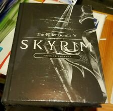 ELDER SCROLLS V SKYRIM COLLECTORS SPECIAL DELUXE EDITION STRATEGY GUIDE BOOK NEW