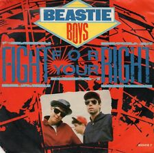 Beastie Boys Fight For Your Right 7' Vinyl Record 1987 UK Single Def Jam 6504187