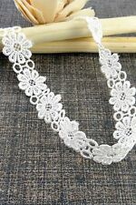Women Fashion Jewelry White Boho Fashion Casual Style Choker Necklace Fabric