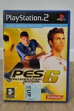Juego Pro Evolution 6 Soccer PS2 PlayStation 2