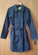 Tchibo Women Navy Blue Trench Coat BNWT Size L EUR 44