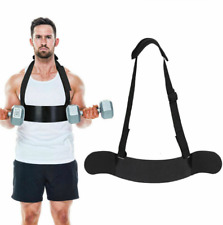 Arm Blaster Bicep Curl Support Thick Gauge Fitness wangxuefeng