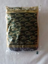 Off Black Silkies Shapely Perfection Pantyhose Queen X-Large 010506 NIP