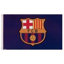 FC Barcelona Logo Flag