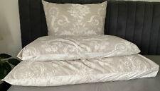 NEW Laura Ashley Josette Dove Grey Floral Pillowcase Standard Bed