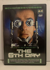 The 6th Day  (DVD, 2001) mit Arnold Schwarzenegger. Action, Thriller, Mystery