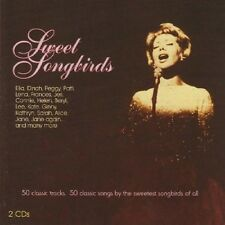 SWEET songbirds (Ginger Rogers, Connie Boswell, Dorothy Lamour,...) 2 CD NUOVO