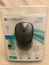 New listing Logitech m310 910-001917 2.4 Ghz Wireless Mouse Black New In Package