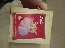 Barbie Swan Lake Christmas Tree Ornament Set With Swan Nib