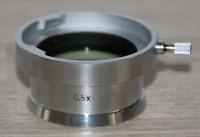 Zeiss Mikroskop Microscope Stemi Stereomikroskop Objektiv 0,5x / Vorsatzlinse