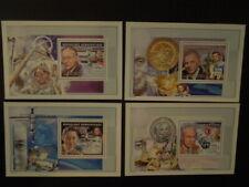 G399     CONGO 2002  SPACE/NOBEL  PRIZE  WINNERS 4 X  S/S  MNH