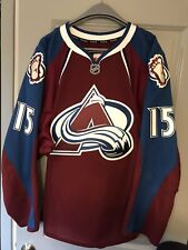 Game Issued Colorado Avalanche Authentic Reebok Edge 2.0 NHL Hockey Jersey