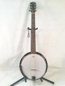Danville 6-String Banjo-Model BJ-006-Banjitar-NEW-Shop Setup Included!