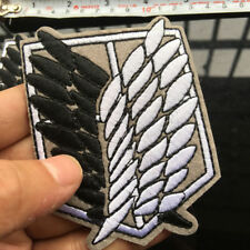 Cartoon Iron on Anime Attack On Titan Embroidered Clothes Patches For Clothing