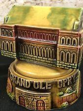 Vintage Sankyo Ceramic Music Box Grand Ole Opry Tennessee Waltz Japan Rotates