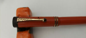 Parker Duofold Fountain Pen Classic Orange color