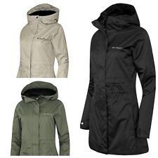 Columbia Women's Shine Struck II Waterproof Rain Hooded Long Jacket Coat New NWT