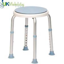 Drive Round Bath Shower Stool Seat Adjustable Height. 12004kdr
