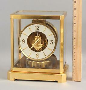 Vintage Classic Modernist Le Coultre Atmos Clock, NR, Possible FREE Delivery!