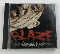 BLAZE YA DEAD HOMIE 1 LESS G IN DA HOOD 1ST PRESS RARE 2001 ICP twiztid CD