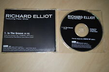 Richard Elliot feat Peter White - In the groove. CD-Single PROMO (CP1705)