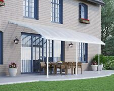 PERGOLA VERANDAH PATIO COVER KIT JOYA 3X5.4 WHITE CLEAR