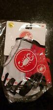 White & Red Castelli Rosso Corsa Cycling Gloves Mitt Size Medium