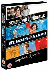 Blades of Glory/Napoleon Dynamite/School for Scoundrels [DVD] By Will Ferrell.