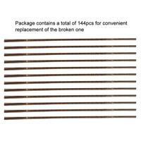 144Pc Saw Blades Jeweler Metalworking Cutting Jewelry Repair Tool Size 1/0-8/0