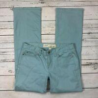 Loft Original Boot Jeans Size 6 Womens Bootcut Blue Denim Stretch