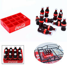 Mini Plastic Coke bottles Crate Pack Garage For RC 1:10 Crawler Decoration Acces