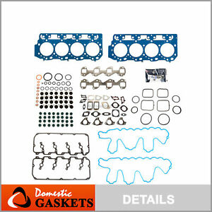 Head Gasket Set 0.047 Thick Fit 04-10 Chevrolet GMC 6.6 DURAMAX LML LLY LBZ