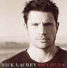 NICK LACHEY- What's Left Of Me-Rock, Pop, Sony BMG Australia*NEW AND SEALED CD*