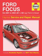 HAYNES WORKSHOP REPAIR MANUAL FORD FOCUS LR 2001-2005