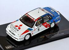 IXO Mitsubishi Galant VR-4 #9 Ericsson Winnwer 1000 Lakes Rally 1989 RAC222 1/43