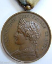 Médaille Exposition Universelle 1878 Paris Admission ORIGINAL FRENCH EXPO MEDAL