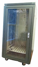 "20U 19"" Enclosed Rack Cabinet for Audio, Video or Networking Systems"