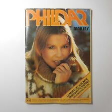 Revue 1977 PHILDAR mailles N°53 tricot patron couture mode vintage France N6931