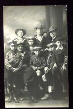 HMS Racoon Crew & Boy Scouts (RP Pre 1914)