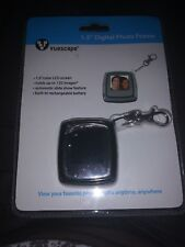 "Vuescape 1.5"" Digital Photo Frame Holds 100+ Photos Key Chain Ring Plug and Play"