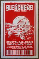 BLEACHERS Jack Antonoff 2014 Gig POSTER Portland Strange Desire Concert FUN.