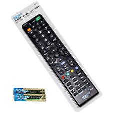 HQRP Remote Control for Sony KDL-52XBR6 KDL-52Z5100 KDL-55BX520 KDL-55EX500 TV